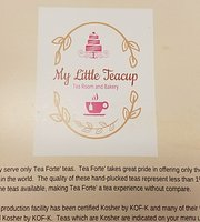 My Little Teacup Tea Room and Bakery