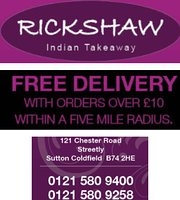 Rickshaw indian takeaway