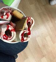 Sweet Swirls Rolled Ice Cream