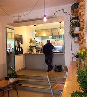 Kafe na schodech