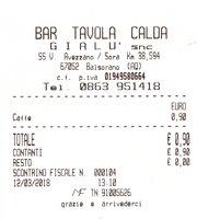 Distributore Esso, Bar, Tavola Calda Gialu