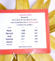 Le Bouche à Oreille Saumur