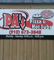 Pa's Pizza & Hot Subs