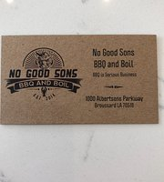 No Good Sons BBQ and Boil