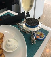 Petrossian Champagne & Caviar at LAX