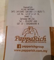 PappaRich Gateway@KLIA2