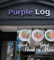 Purple Log