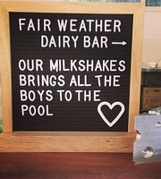 Fairweather Dairy Bar