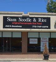 SIAM Noodle & Rice Restaurant