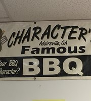 Character's Famous BBQ
