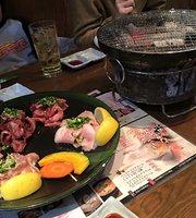 Shichirin-grilled meat Suehiro