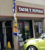 Taco y Pupusas
