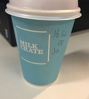 Milk crate cafe