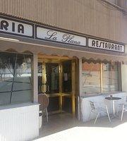 Cafetaria restaurant La Plana