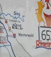 Rheinbiss Rheinkilometer 652