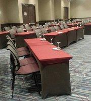 Dining inside Hotel Hilton Garden Inn