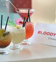 Bloody Mary Drinks and Snacks
