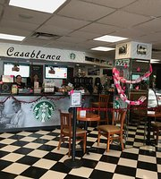 Casablanca Café proudly serving Starbucks