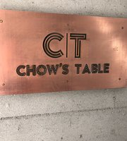 ‪Chow'S Table‬