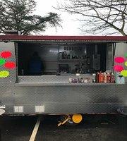 Suzie's snax burger and takeaway van