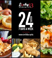Lucky 13 Sandwich - Kamala