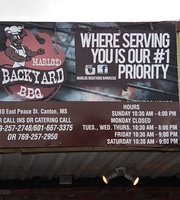 Marlo's Backyard Bbq
