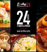 Lucky 13 Sandwich Rawai