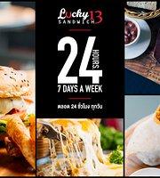 Lucky 13 Sandwich - Nai Harn