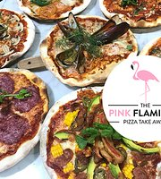 The Pink Flaminggo Pizza