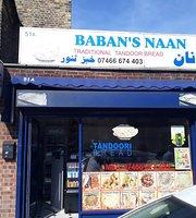 Baban's Naan