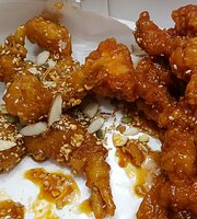 Full Korean Style Sweet and Sour Chicken