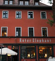 Roter Elephant