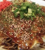 Hiroshima style Okonomiyaki Dining K Nakano-ten