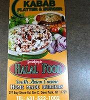 Kabab Platter & Burger