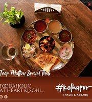 #Kolhapur - Thalis & Kebabs