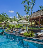 The Pool Bar at Mandapa