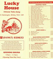 Lucky House Chinese Take Away