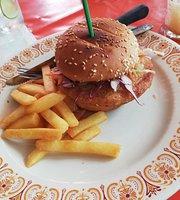 Cha-ame coffee and burger