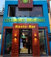 Costumbres Argentinas RESTO BAR