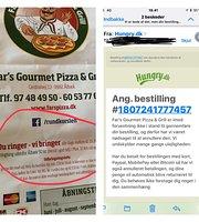 Far's gourmet pizza og grill