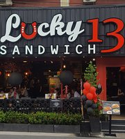 Lucky 13 Sandwich - Karon
