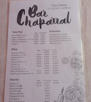 Bar El Chaparral