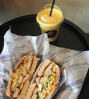 Delicious Sandwich & Juice