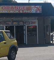 Orange Teriyaki & Pho