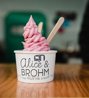 Alice & Brohm Real Fruit Ice Cream