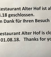 Alter Hof Restaurant