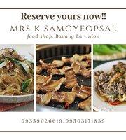 Mrs K Samyeopsal