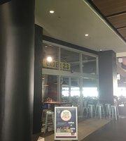 Paddock cafe MCG