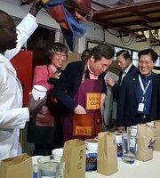 Masai Coffee factory tour