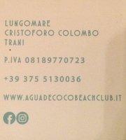 ristorante del Agua de Coco Beach Club